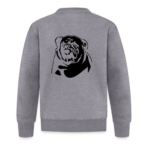 English Bulldog - negative - Baseball-takki