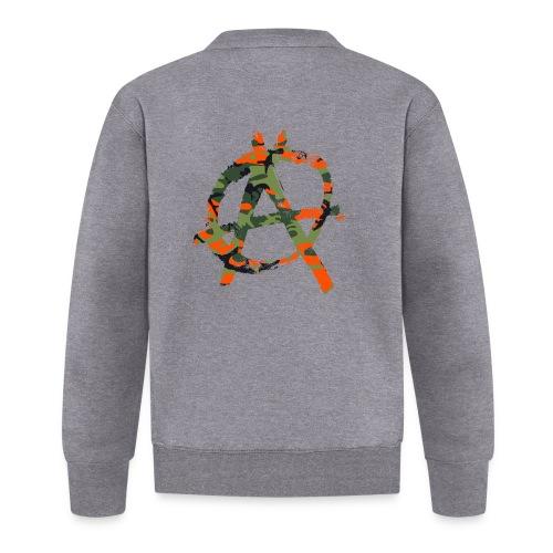 Camouflage-Punk-Orange - Baseball Jacke