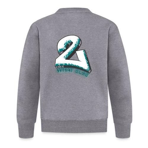 77 what else - Unisex Baseball Jacke