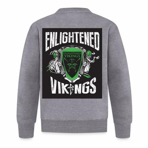 Enlightend Vikings - Baseballjakke unisex
