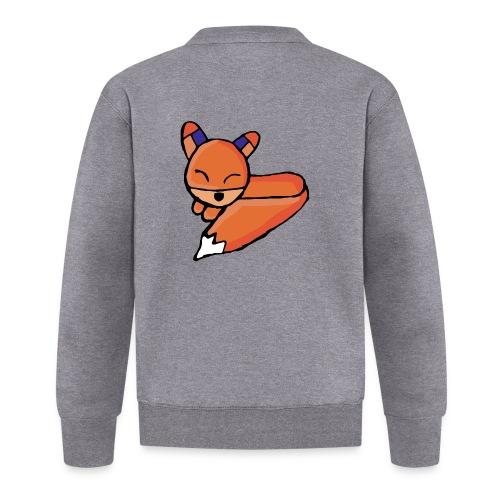 Edo le renard - Veste zippée Unisexe