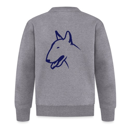Bullterrier BULLY HEAD 1c_4light - Baseball Jacke