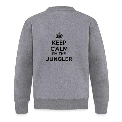 Keep calm I'm the Jungler - Veste zippée Unisexe