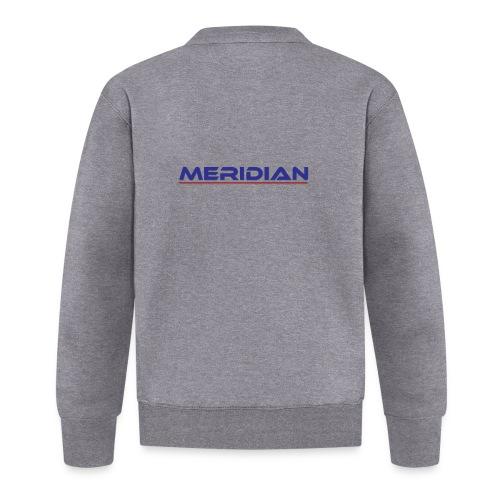 Meridian - Felpa da baseball unisex