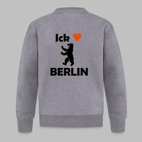 Ick liebe ❤ Berlin - Unisex Baseball Jacke