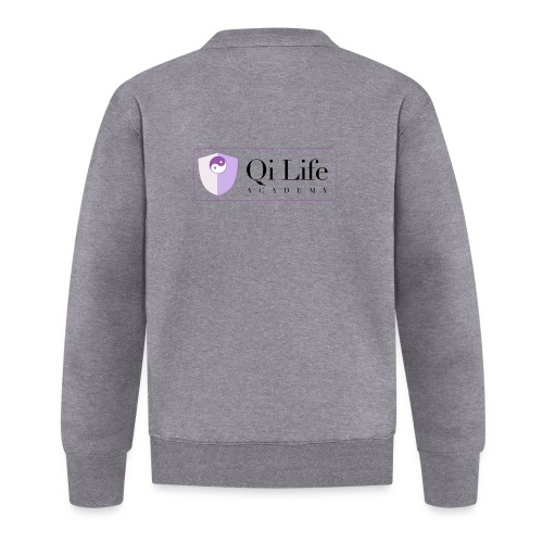 Qi Life Academy Promo Gear - Baseball Jacket