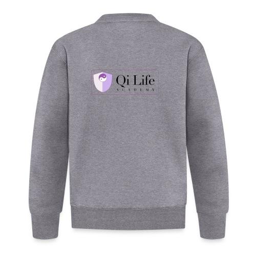 Qi Life Academy Promo Gear - Unisex Baseball Jacket