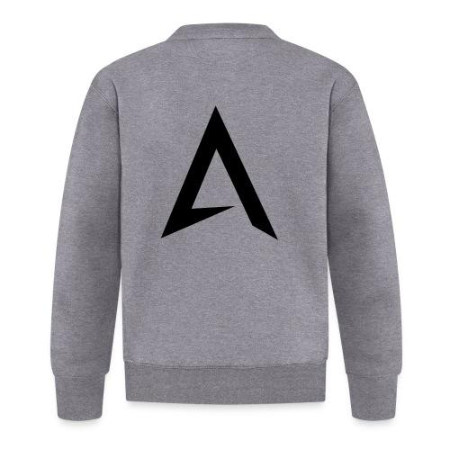 alpharock A logo - Unisex Baseball Jacket