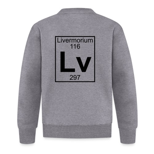 Livermorium (Lv) (element 116) - Baseball Jacket
