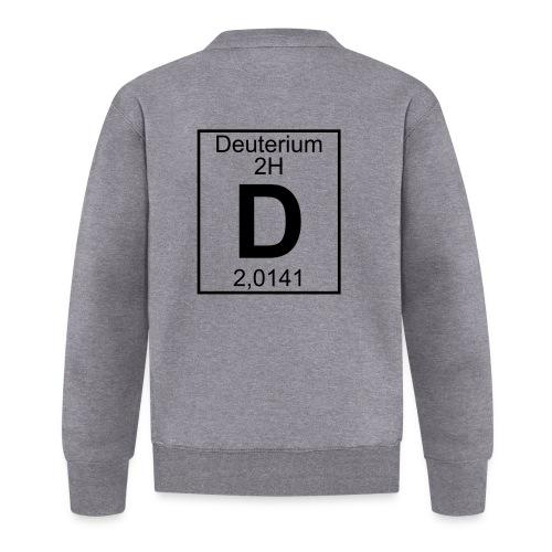 D (Deuterium) - Element 2H - pfll - Baseball Jacket
