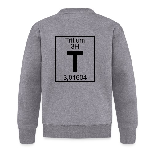 T (tritium) - Element 3H - pfll - Baseball Jacket