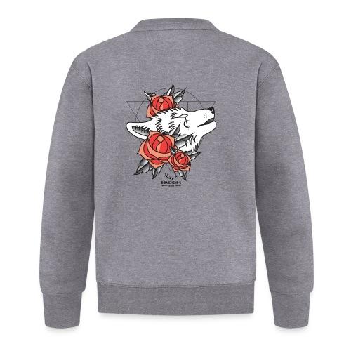 Wolfhead - Unisex Baseball Jacket