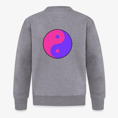Yin Yang PinkBlue - Chaqueta de béisbol