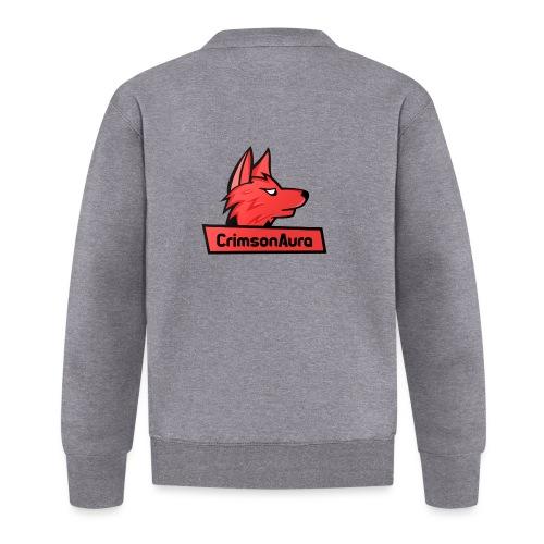 CrimsonAura Logo Merchandise - Unisex Baseball Jacket
