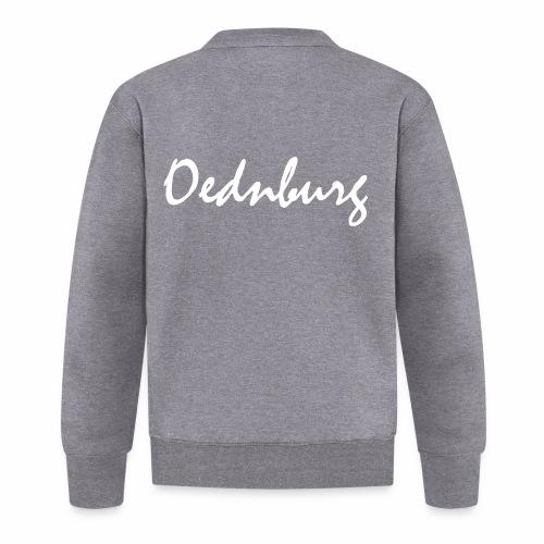 Oednburg Wit - Unisex  baseballjack