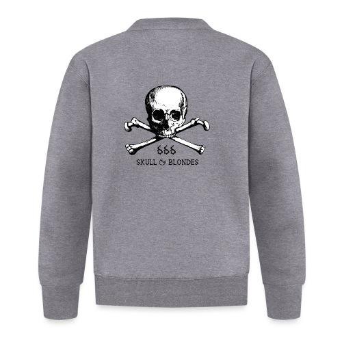 skull & blondes (black) - Unisex Baseball Jacke