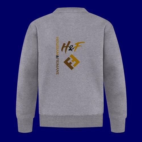 h&F luxury style - Felpa da baseball