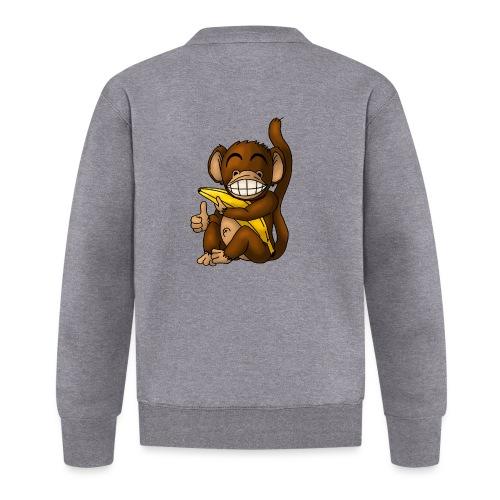 Super Fröhlicher Affe - Baseball Jacke