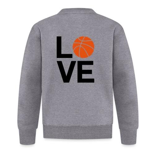basketball_love - Veste zippée Unisexe