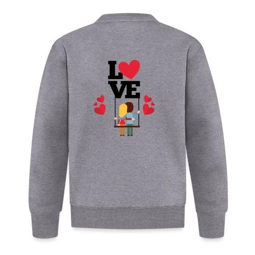 Love couple t-shirt - Veste zippée