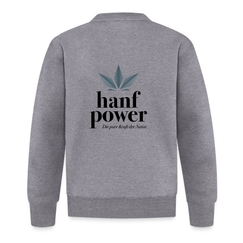 Hanf Power Logo - Baseball Jacke