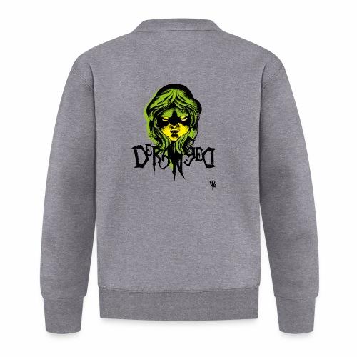 DerangeD - Tattoo Metal Horror Vampire - Unisex baseballjakke