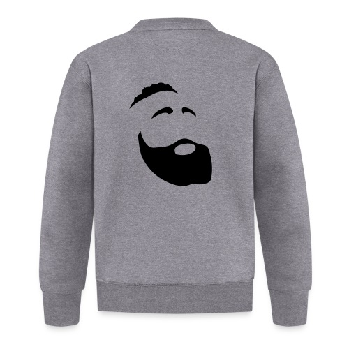 Il Barba, the Beard black - Felpa da baseball unisex