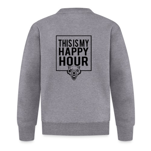 THIS IS MY HAPPY HOUR - Chaqueta de béisbol