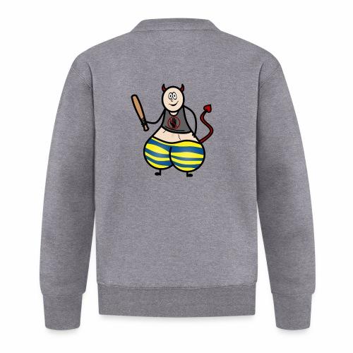 Devil No Touchies Charlie - Unisex Baseball Jacket