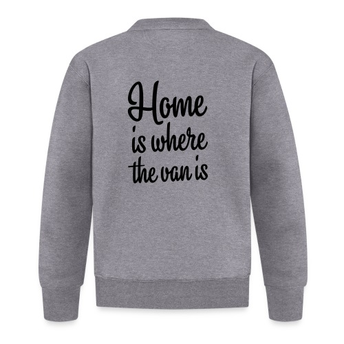 Home is where the van is - Autonaut.com - Baseball Jacket