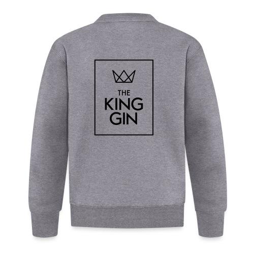 The King Gin Logo schwarz RGB Rahmen - Baseball Jacke