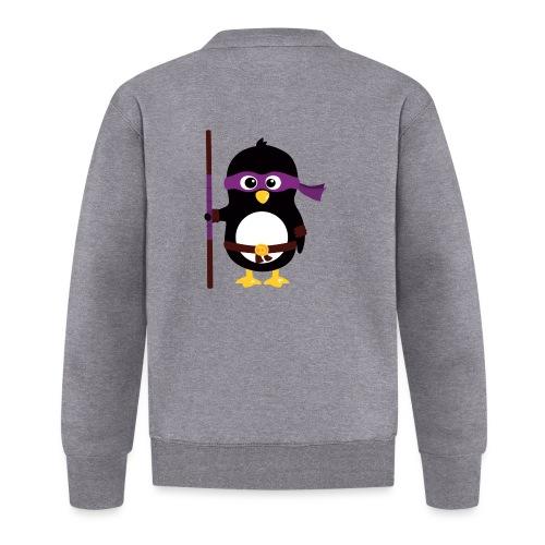Pingouin ninja - Veste zippée Unisexe