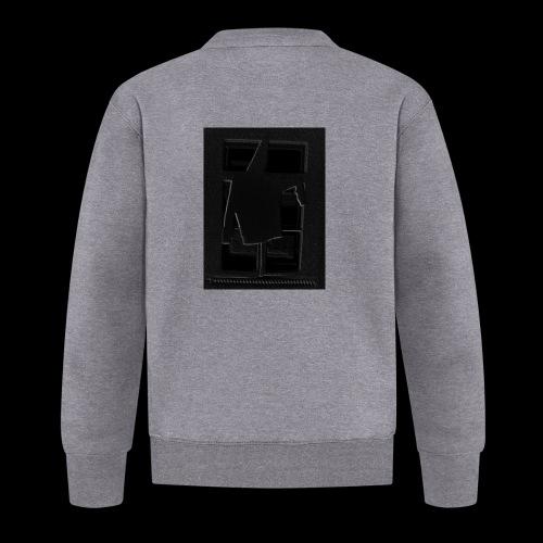 Dark Negative - Unisex Baseball Jacket