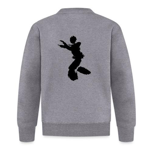Wing Chun / Kung Fu Tusche Figur VEKTOR - Baseball Jacket