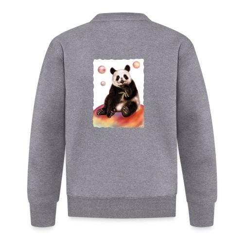 Panda World - Felpa da baseball unisex