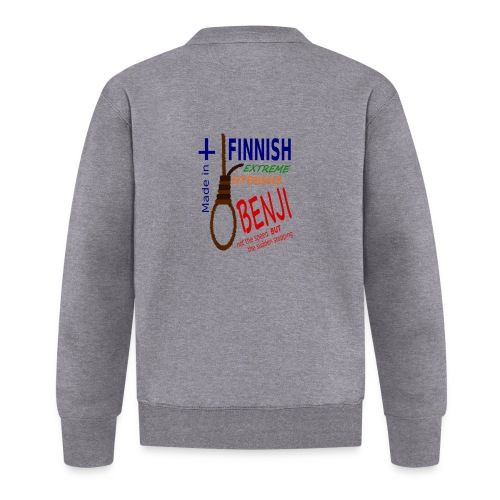 FINNISH-BENJI - Unisex Baseball Jacket