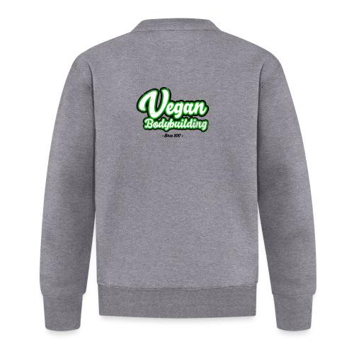 Vegan Bodybuilding -design - Unisex baseball-takki