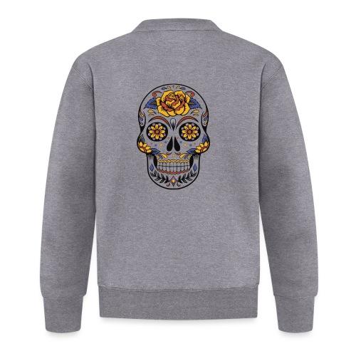 skull mexiko mexico - Baseball Jacke