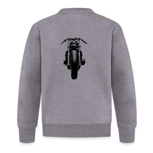 Motorcycle Front - Baseball Jacket