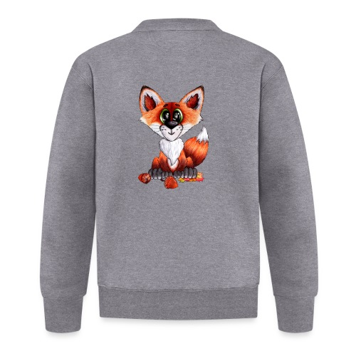 llwynogyn - a little red fox - Baseballjakke