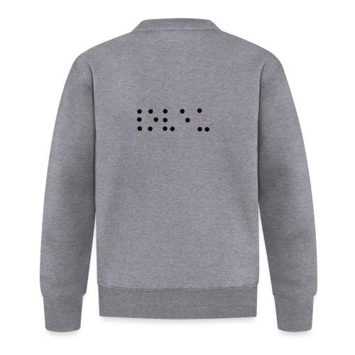 Je t'aime braille - Veste zippée Unisexe