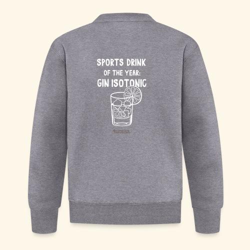Gin Isotonic Sports Drink Of The Year - Unisex Baseball Jacke