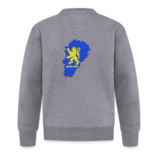 Carte Franche-Comté + lion - Veste zippée