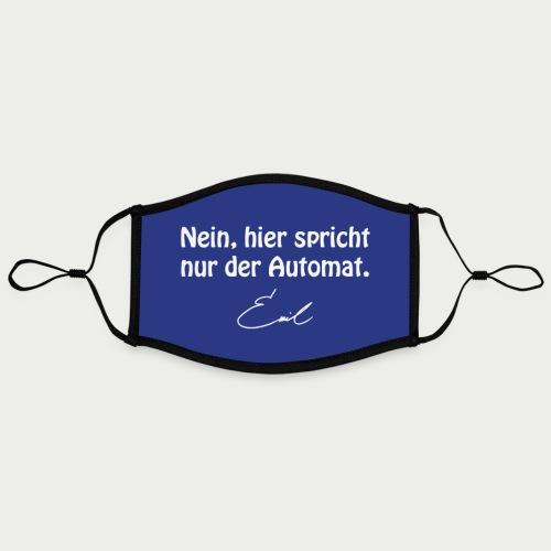 Emil Steinberger Nein hier spricht nur der Automat - Kontrastmaske, einstellbar (Large)