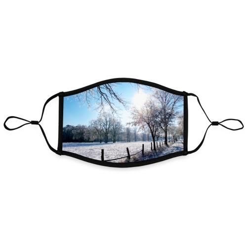 Scherenbostel im Schnee - Kontrastmaske, einstellbar (Large)