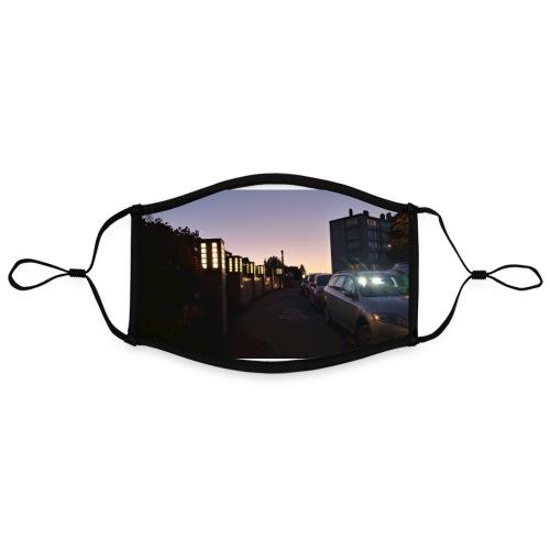 Sunset mousepad - Contrast mask, adjustable (large)