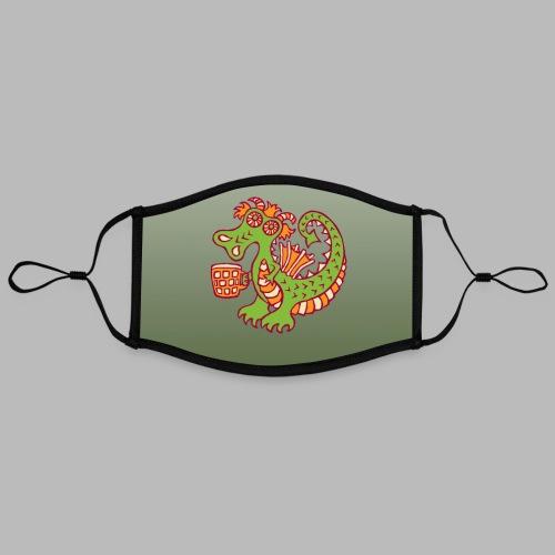 BEER QUAFFER [face mask] - Contrast mask, adjustable (large)