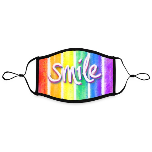 smile rainbow - Kontrastmaske, einstellbar (Large)