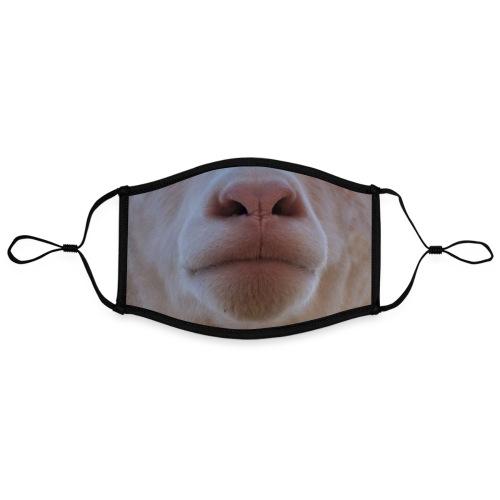 Masque de mouton - Masque contrasté, réglable (taille L)
