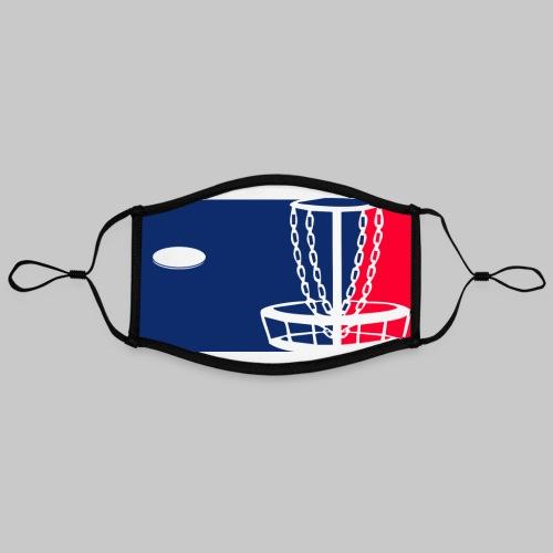 Major League Frisbeegolf - Kontrastivärinen maski, säädettävä (large)